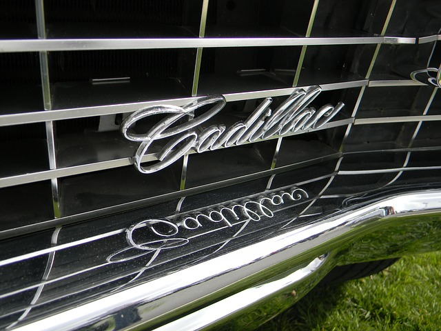 Cadillac vehicle grill