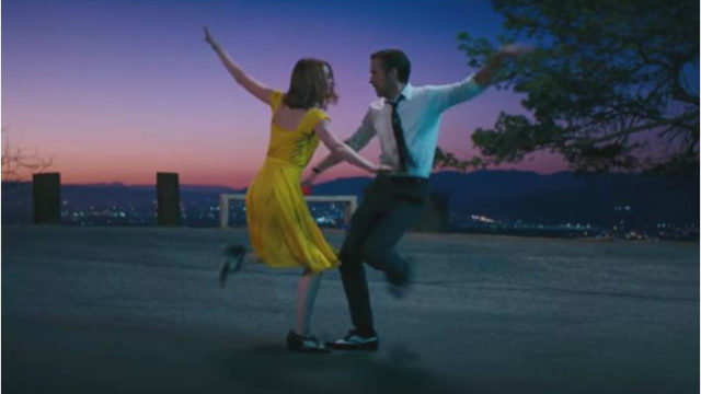 "A scene from ""La La Land."" Image from official trailer"