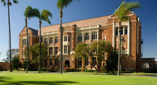 Loyola High School in Los Angeles. Photo courtesy of the school