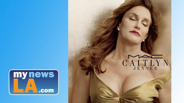 Caitlyn Jenner poses for new makeup line benefiting transgender groups. Photo via Instagram