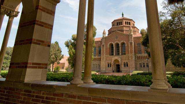 UCLA campus scene. Photo via grad.ucla.edu