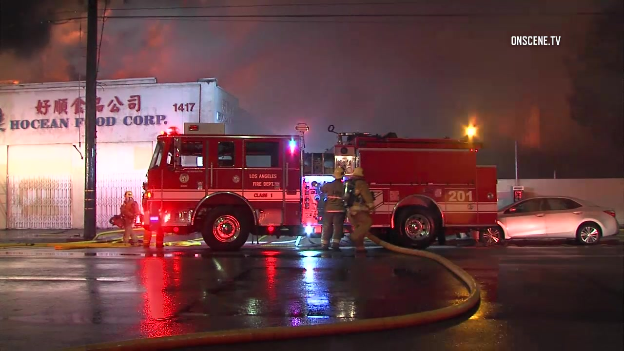 Dangerous Chinatown Blaze Threatens Firefighters