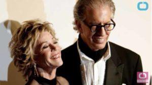 Jane Fonda and Richard Perry. Photo via YouTube.com