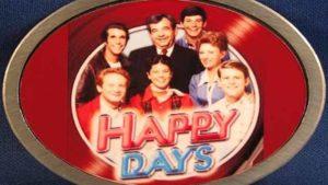 """""""Happy Days"""" logo of 1970s-1980s TV show. Image via YouTube.com"""