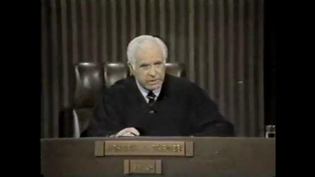 Judge Wapner of TV's 'The People's Court' dead at 97 ...