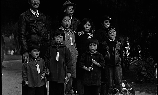 This photo depicts the many Japanese-American families who spent time in the Japanese internment camps. Photo via: http://www.nationalww2museum.org