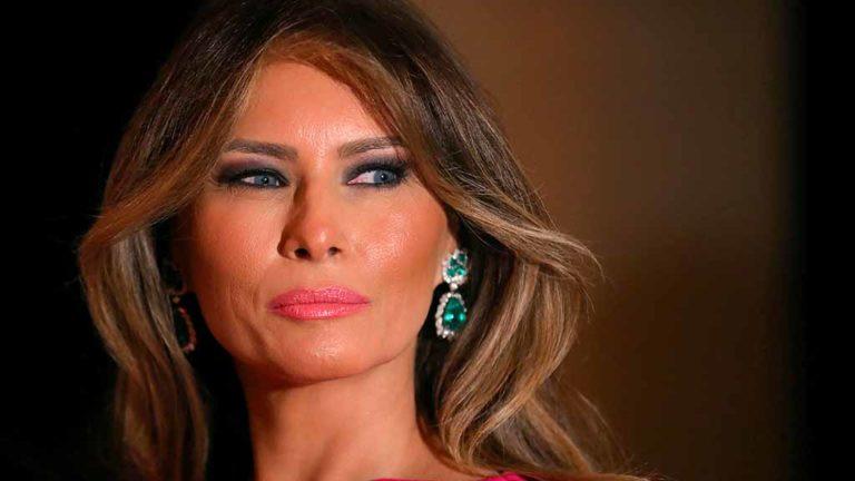 First Lady Melania Trump at Mar-a-Lago club in Palm Beach, Florida, on Feb. 4, 2017. Photo by Carlos Barria via Reuters