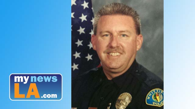 Whittier police Officer Keith Wayne Boyer.