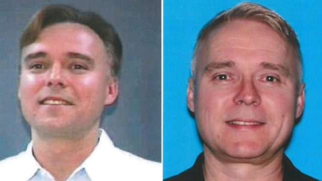 Mirek Voyt, shown in 1997 (left) and 2012. Investigators believe Voyt may have sexually assaulted other victims over the years. Photos: LAPD