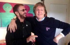 Ringo Starr and Paul McCartney. Photo via Twitter
