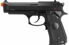 an airsoft handgun