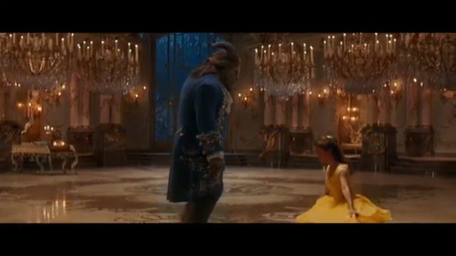 """Beauty and the Beast"" official movie trailer. Photo: YouTube/Disney"