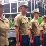 Marines at 9/11 Memorial