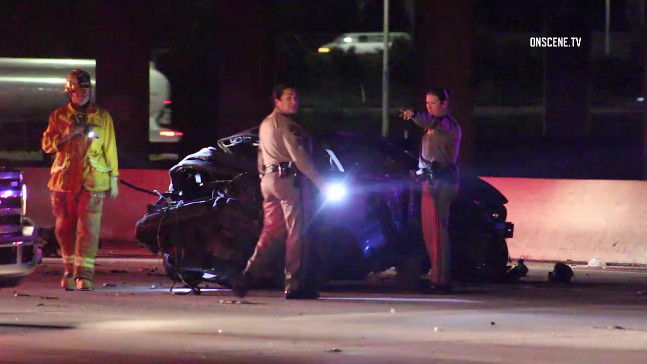 Summary -> Man Killed 4 Hurt In 6vehicle Wreck On 605 Freeway In