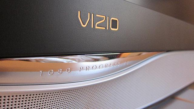 A Vizio TV screen. Photo by kennejima via Flickr