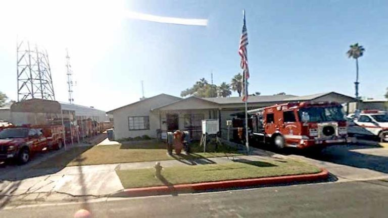 Blythe fire station. Image via Google Maps