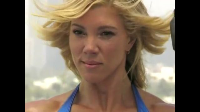 """Jacqueline Renee Waddell -- who was known as Jackie Warner on her Bravo TV series """"Work Out."""" Photo: YouTube"""