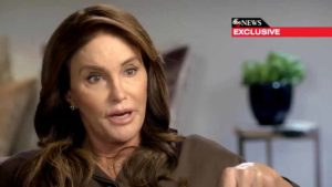 Caitlyn Jenner speaking to Diane Sawyer. Image via ABC News