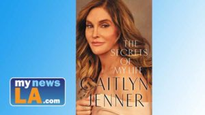 "Cover of Caitlyn Jenner's new book, ""The Secrets of My Life."""