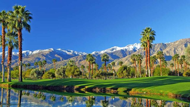 palm springs scenery
