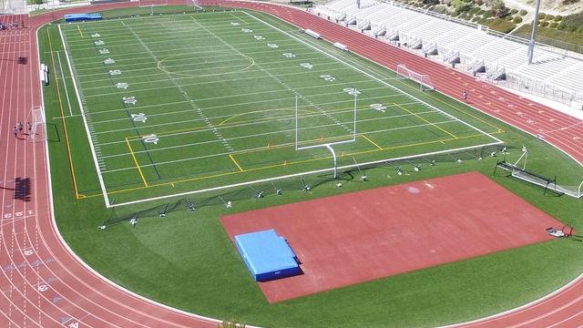 The stadium at Valencia High School. Courtesy of the school