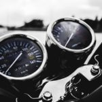 Example of a motorcycle's gauges. Photo via Pixabay