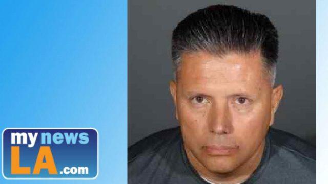 Arroyo High School teacher and girls' soccer coach Daniel Rios. Booking photo: El Monte Police Department