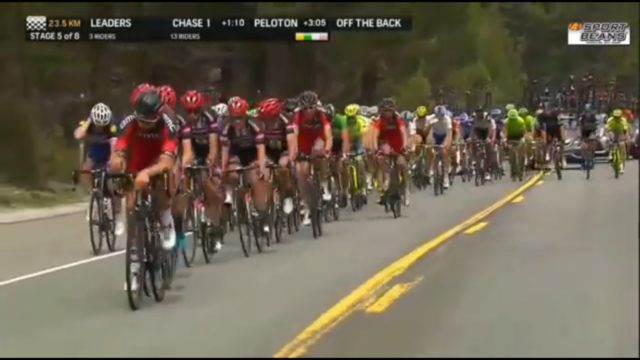 2016 Amgen Tour of California. Photo: YouTube