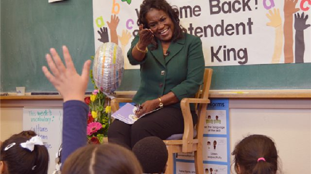 LAUSD Supe Michelle King
