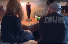 Officer with sex crime victim