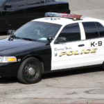 Beverly Hills police cruiser