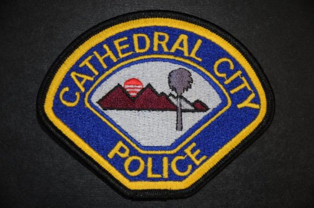 cathedral city police patch