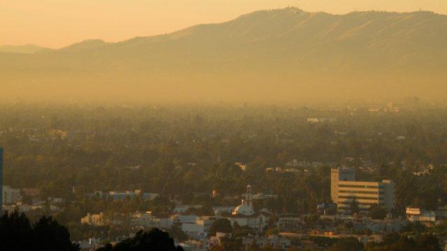 Smog in San Fernando Valley