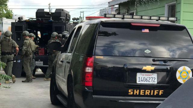 LA County Sheriff SWAT team