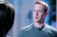 Mark Zuckerberg interviewed on CNN Tech