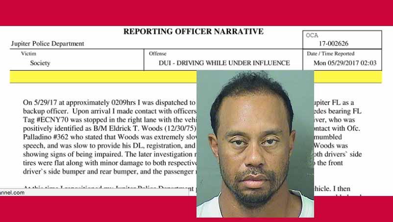 Tiger Woods depressed? Fingers Xanax in Florida DUI arrest ...