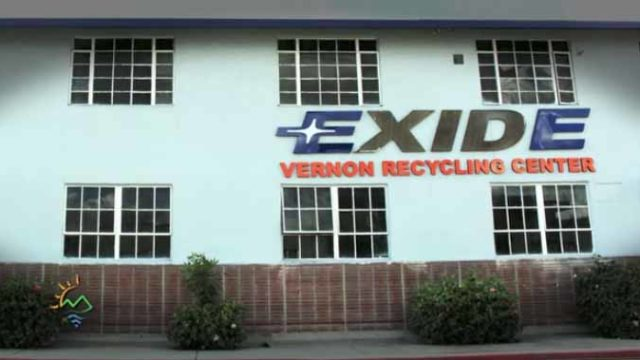 Exide battery-recycling plant
