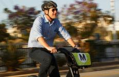 metro bike share rider
