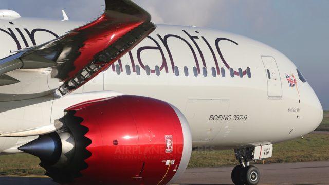 A Virgin Atlantic 787-9. File photo: YouTube