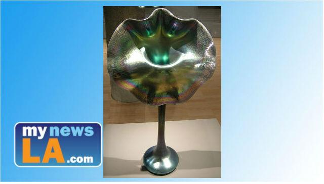 Dont Break That Vase Art Nouveau Tiffany Goodies At Huntington