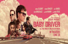 Baby Driver banner poster