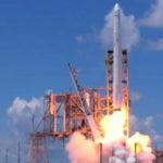 Falcon 9 rocket with Dragon capsule