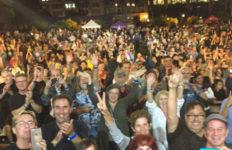 Pershing Square concert