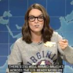 "Tina Fey on ""Weekend Update."""