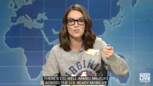 "Tina Fey on ""Weekend Update."""