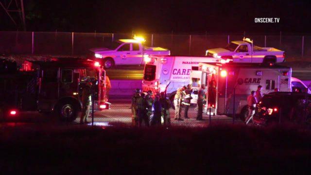 605 Freeway crash/Pico Rivera