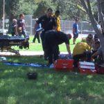 Ganesha Park motorcycle crash in Pomona