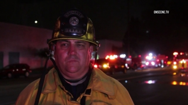 Firefighters From The Long Beach Fire Department And Other Agencies Monday  Battled A Third Alarm Fire That Damaged More Than 100 Units At A Storage  Facility ...