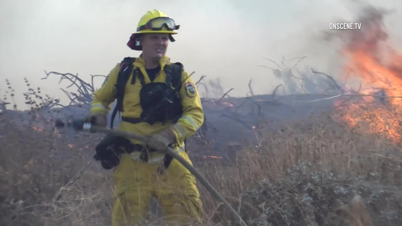 blaine fire rages in riverside county mandatory