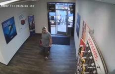 Phone store robbery suspect in orange county
